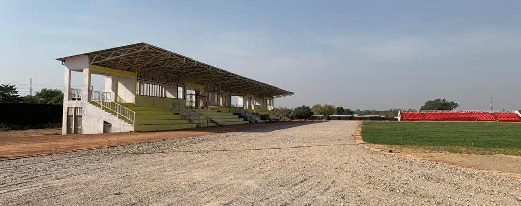 This VIP Stand at the Navrongo Multipurpose Stadium