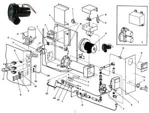 Lincoln 369366 Burner Blower Motor