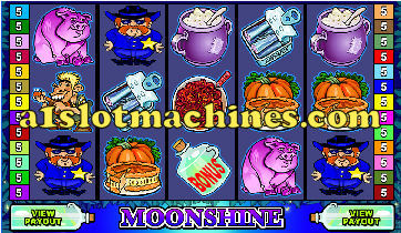 Hillbilly Moonshine Slot Machine