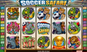Soccer Safari - World Cup Theme Slot Machine