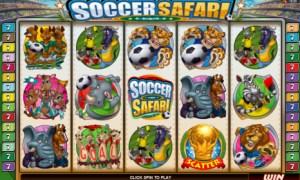 Soccer Safari - World Cup Theme Slot Machine