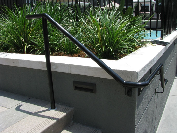 Handrails Systems Stair Railing Los Angeles Ca Outdoor Stair   Exterior Stair Railings Near Me   Stair Treads   Porch   Front Porch   Porch Railing   Railing Ideas