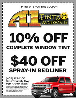 10% off special auto window tinting