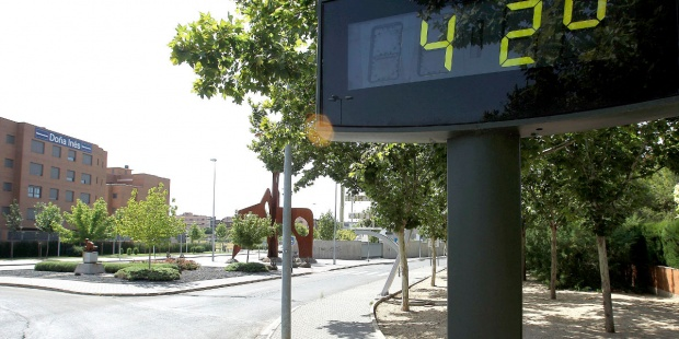 La ola de calor alcanzará su punto álgido, 42 grados o más, durante el fin de semana