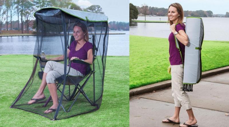 Amazon vende una silla antimosquito para disfrutar al aire libre sin temor a las picaduras