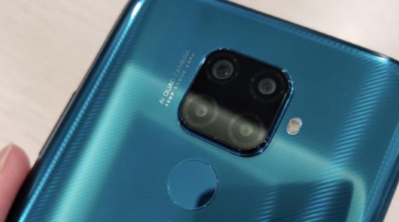 El Huawei Mate 30 Lite se filtra en imágenes: cuatro cámaras y pantalla con orificio