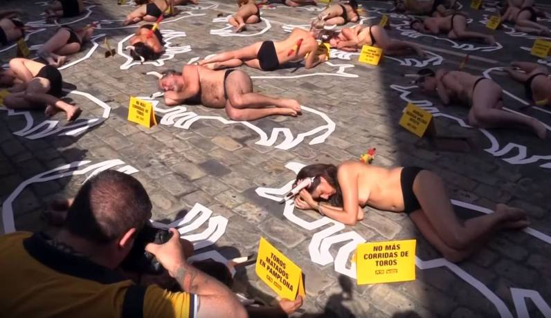 protesta antitaurina......
