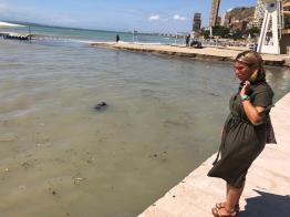 082019 Visita playas vicealcaldesa y edil de Turismo (3)