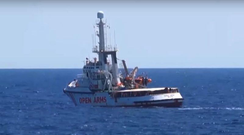 Fiscal italiano ordena la incautación del barco de rescate de migrantes Open Arms