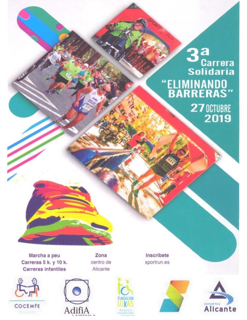 27 oct 2019 6 Cartel Carrera con la que coopera la Concejalía de deportes F 2