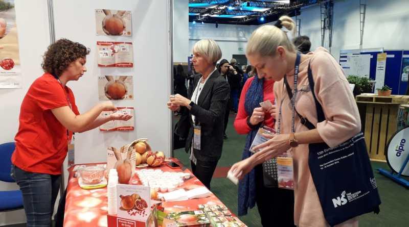 La Granada Mollar de Elche busca prescriptores entre los nutricionistas europeos más prestigiosos