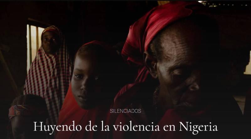 Huyendo de la violencia en Nigeria