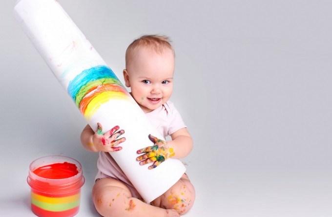 ¿Qué es un bebé arcoíris?