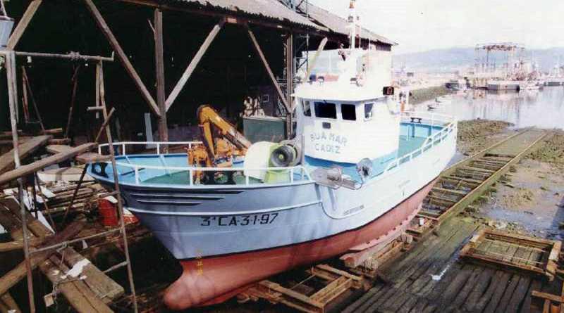 Salvamento marítimo busca a un pesquero gaditano desaparecido en aguas de Marruecos con seis tripulantes a bordo