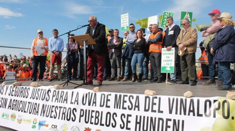 ASAJA Alicante anuncia que continuarán las movilizaciones