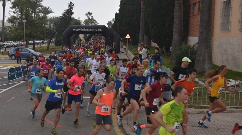Los corredores Francisco Maciá, de Crevillente, y la danesa Sissel Moeller han ganado hoy la X Serra Grossa Trail