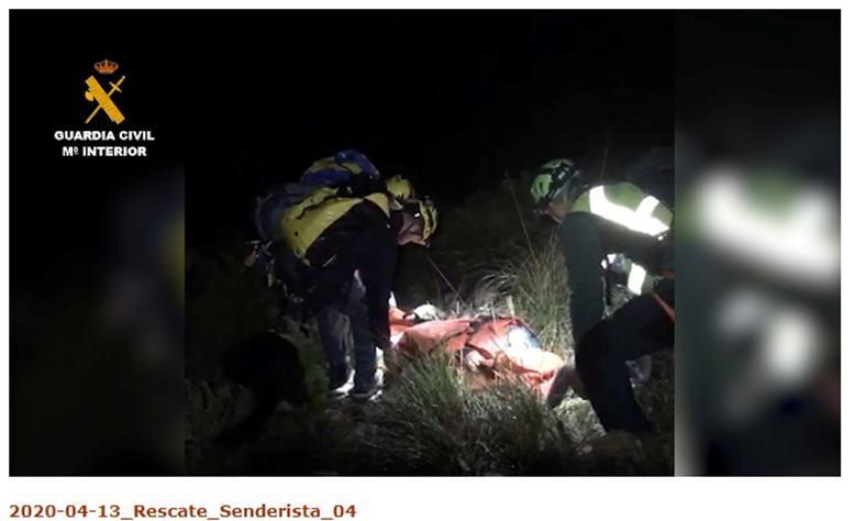 Rescate guardia civil policia local proteccion cicil Dya 2
