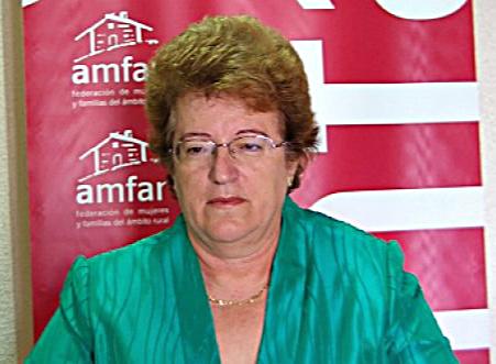 Tere Antón Díez, PRESIDENTA DE AMFAR ALICANTE