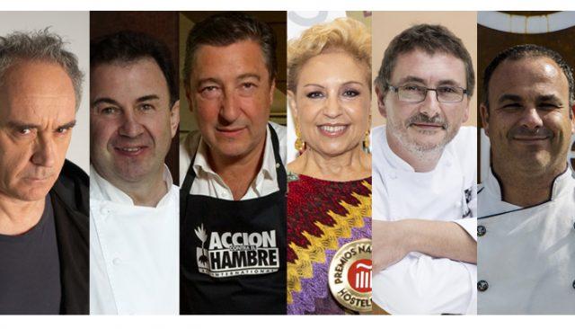 Toda la hostelería se une, encabezada por sus grandes chefs, en defensa de la gastronomía y el turismo