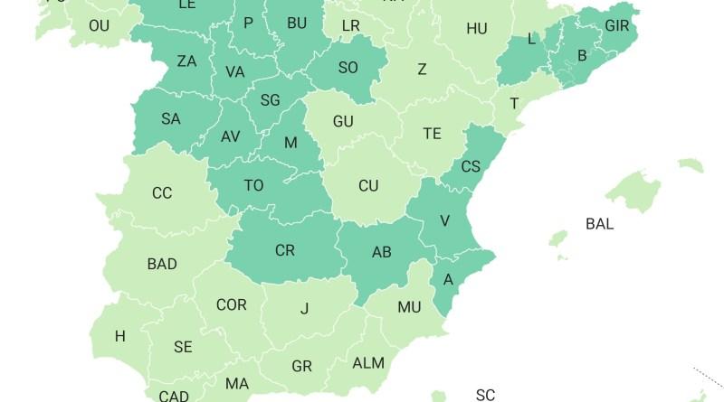 A partir del lunes el 52% de la población española estará en «FASE 3 tres»