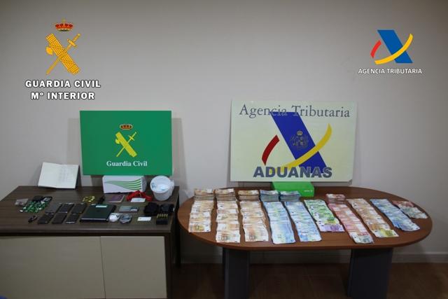 Desarticulado un grupo criminal por tráfico de drogas y blanqueo de capitales