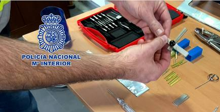 La Policía Nacional detiene a cuatro personas integrantes de un grupo