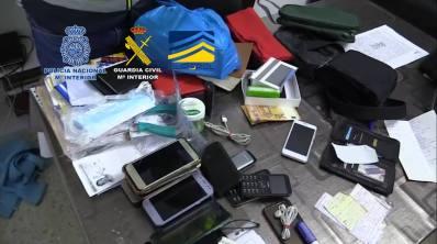policia nacional guardia civil dinero moviles