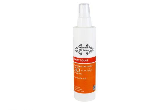spray solar 30+ textura ultra ligera
