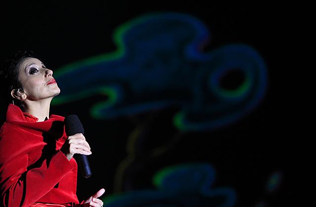Luz Casal sorprende con su gira de la mano de la Real Filharmonía de Galicia