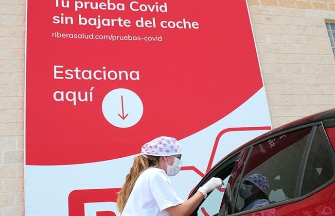 Ribera Lab pone en marcha un CovidAuto en el Parque Empresarial de Elche-Torrellano, a 10 minutos del aeropuerto