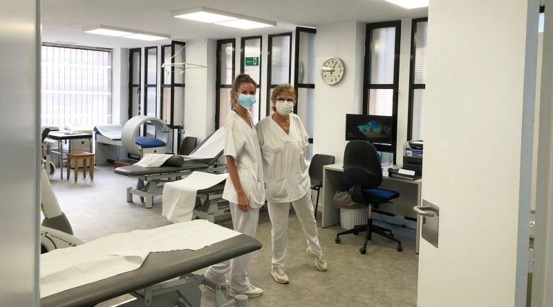 Sanidad reforma de la sala de fisioterapia de la Unidad Básica de Rehabilitación del centro de salud de Santa Pola