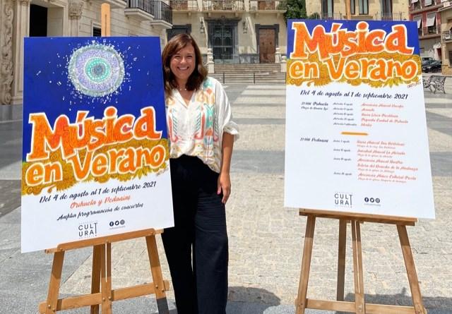 Cultura presenta 'Música en Verano II', un programa de conciertos en la calle en el que participan bandas y asociaciones musicales de Orihuela
