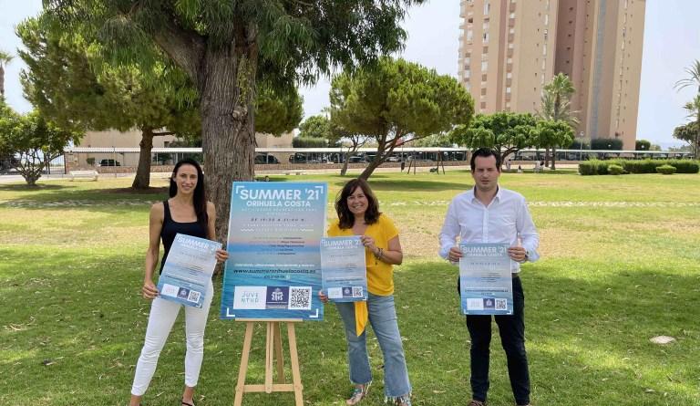 Juventud y Playas organizan un programa de actividades recreativas para toda la familia en Orihuela Costa
