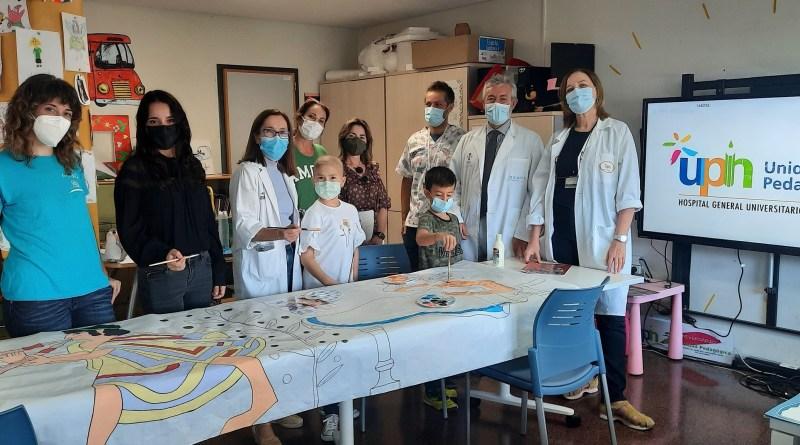 El Aula Hospitalaria del General de Alicante recupera la presencialidad de las actividades lúdicas dirigidas a los niños y niñas ingresados