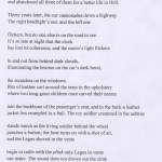 2013 Sarah Mook Poetry Prize