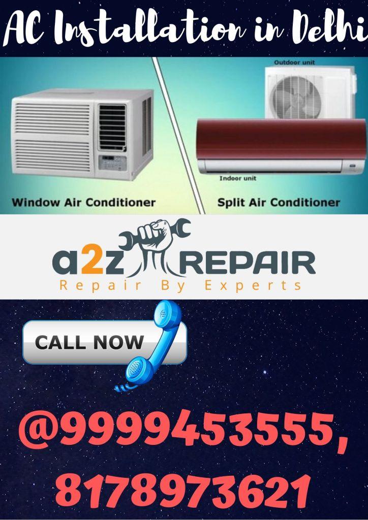 AC Installation in Delhi