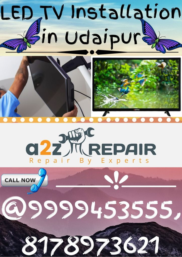 LED TV Installation in Udaipur