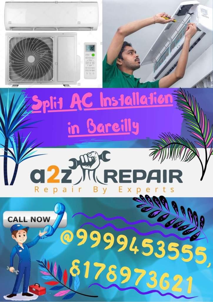Split AC Installation in Bareilly