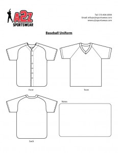 Baseball Jersey Template. kitchener waterloo custom baseball team ...