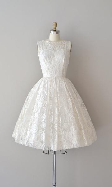 A2ZWeddingCards Hint-of-Lace Wedding Dress
