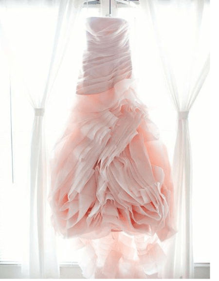 A2ZWeddingCards, Pink Wedding Dress