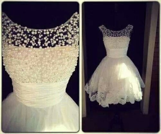 A2ZWeddingCards, Short Wedding Dress