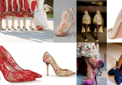 A2ZWeddingCards, Colorful Shoes