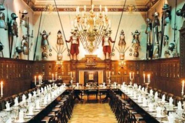 Medieval theme wedding venue
