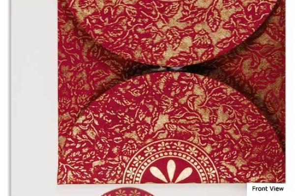 A2zweddingcards- Pocket fold Invitations