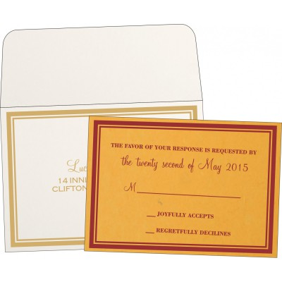 RSVP Cards- A2zweddingcards