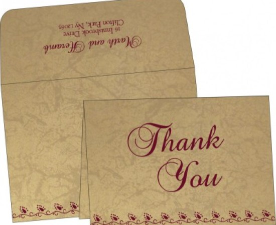 Thank You Invitations-A2zWeddingCards