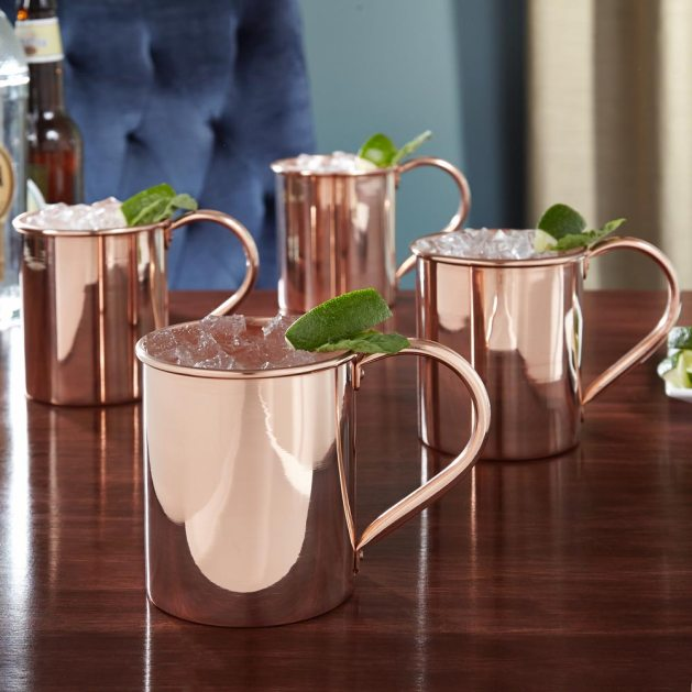 Moscow Mule Mugs for Wild West Wedding