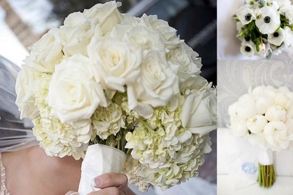 White Wedding Bouquets - A2zWeddingCards