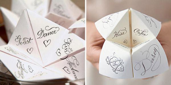 Cootie Catcher for Wedding | A2zWeddingCards
